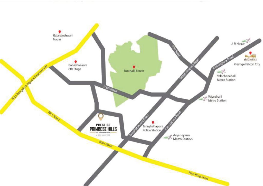 Prestige Group Primrose Hills location-map